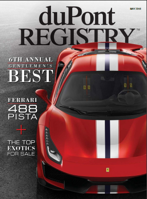 Auto Antlers selected as one of Dupont Registry's Gentlemen's Best in the prestigious 6th annual Gentlemen's Best edition catalog
